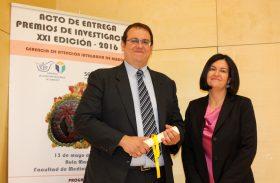 El investigador Daniel García Ovejero galardonado en los Premios de Investigación de la Gerencia de Atención Integrada de Albacete