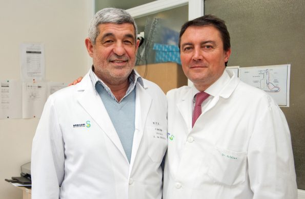Los urólogos Antonio Gómez y Manuel Esteban