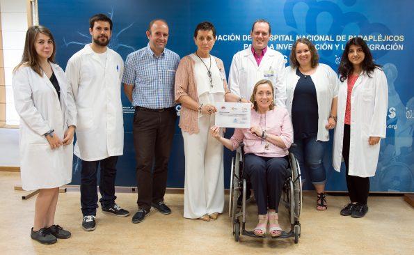 ADEMTO dona 7.000 euros para investigación en esclerosis múltiple en el HNP