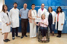 Potenciamos la investigación en esclerosis múltiple con 7.000 euros donados por ADEMTO