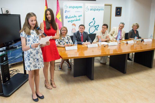 Entrega del premio Discapacidad y Seguridad Vial de Aspaym (Foto: Carlos Monroy)