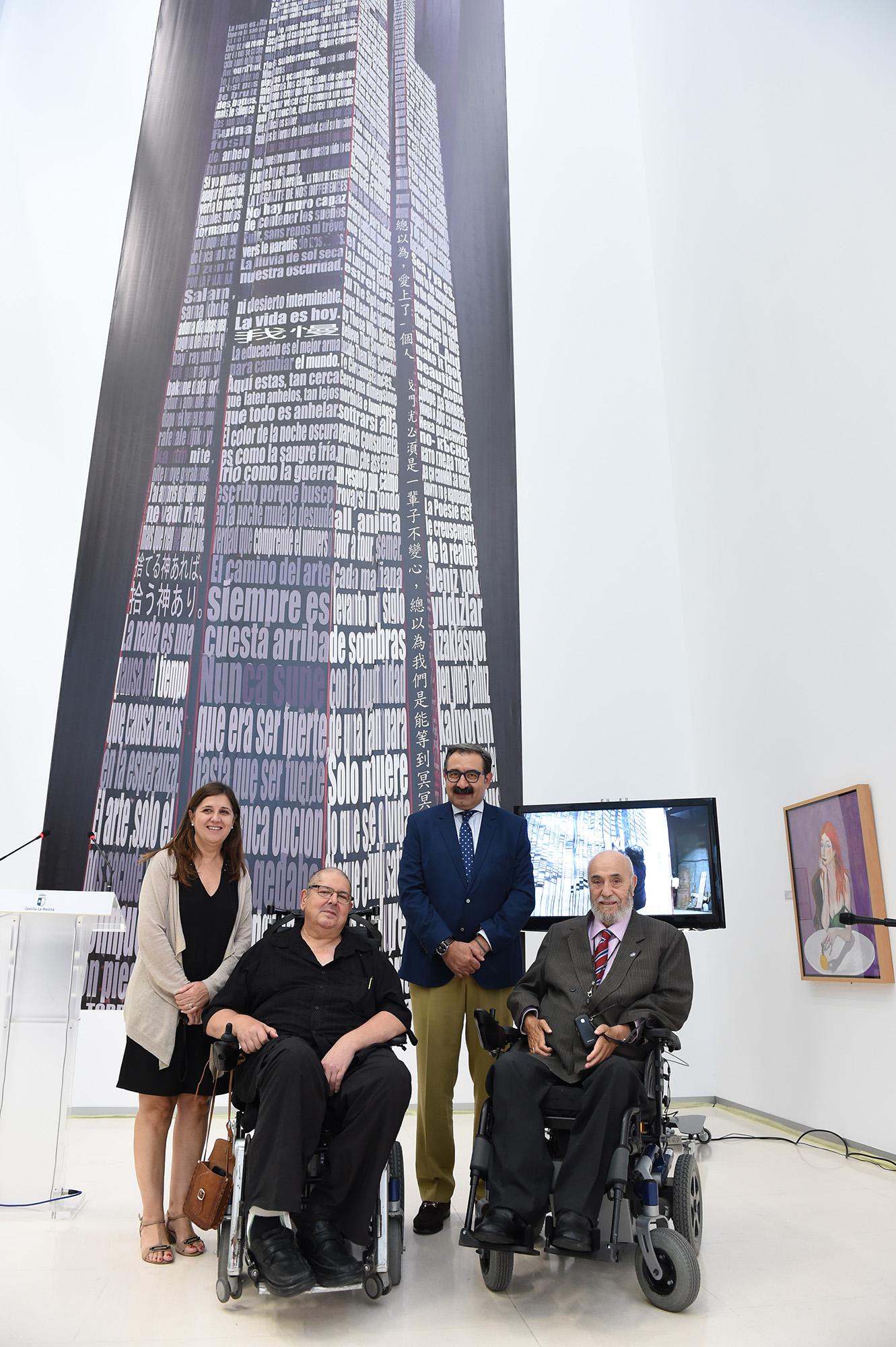 Presentación de La Torre de la Igualdad (Foto: Carlos Monroy)