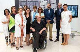 Parapléjicos abre sus puertas a la obra del artista y ex paciente Ángel Baltasar