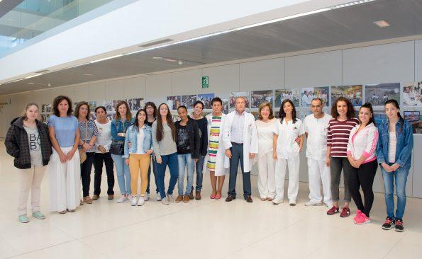 Grupo estudiantes Auxiliar de Enfermería (Foto: Carlos Monroy)