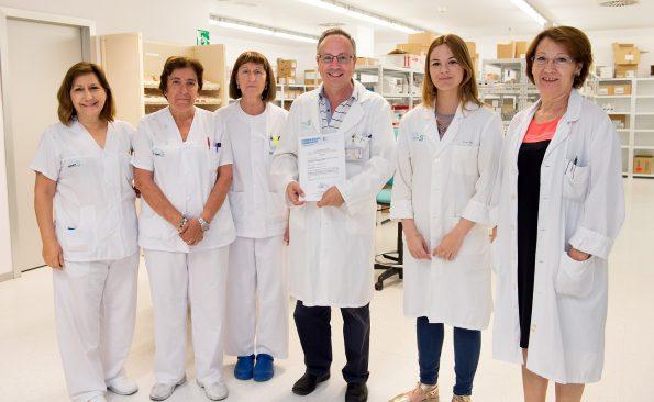 Servicio de Farmacia del Hospital Nacional de Parapléjicos