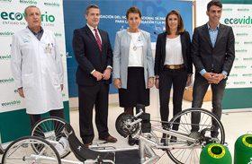 El Hospital cuenta con una nueva bicicleta de manos para los pacientes