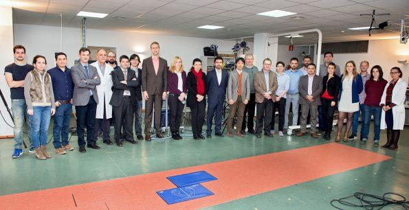 Toledo, diciembre de 2015 .Reunión del consorcio BioMOt con evaluadores europeos en el Hospital Nacional de Parapléjicos. (Foto: Carlos Monroy//SESCAM)