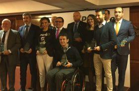 Parapléjicos galardonado en la Segunda Edición de los Premios #0accidentes