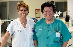 Enfermeras de la UCI del Hospital de Parapléjicos forman en lesión medular a profesionales del Hospital 12 de Octubre de Madrid