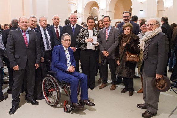 Entrega de la Medalla de Oro de la Ciudad de Toledo al Hospital Nacional de Parapléjicos. (Foto: Carlos Monroy)