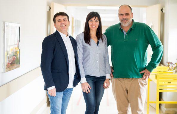 uan Avendaño-Coy, Ana María Onate y Antonio Oliviero. (Foto: Carlos Monroy)