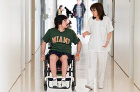 Las caídas se sitúan, una vez más, como motivo fundamental de ingreso en el Hospital