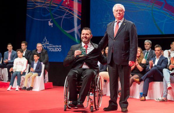 Gala del Deporte de la Diputación de Toledo.