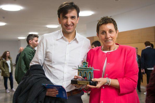 Gala del Deporte de la Diputación de Toledo. Premio al Hospital Nacional de Parapléjicos (Foto: Carlos Monroy)