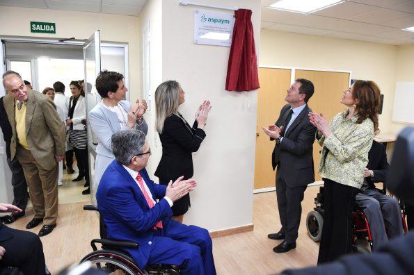 Inauguración de las instalaciones de ASPAYM en el Hospital Nacional de Parapléjicos(Foto: Carlos Monroy)