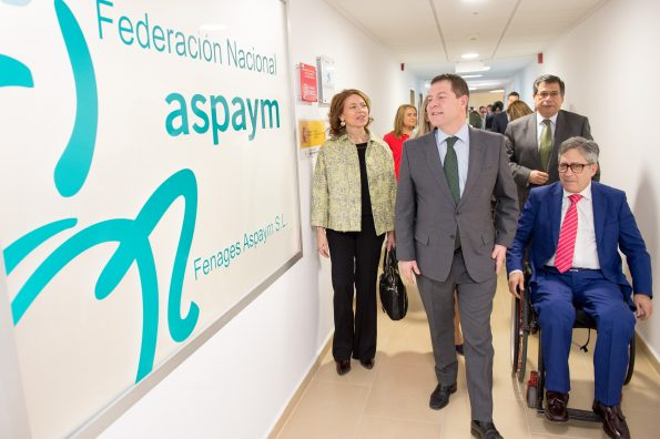 Inauguración de las instalaciones de ASPAYM en el Hospital Nacional de Parapléjicos (Foto: Carlos Monroy)