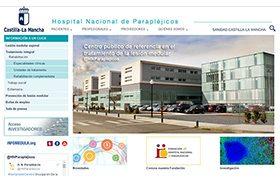 El Hospital renueva su página web con un diseño actual, intuitivo y sencillo