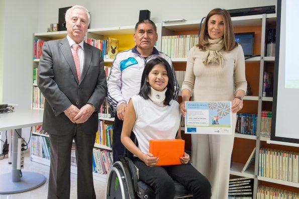 II Concurso Literario Linde en el Hospital Nacional de Parapléjicos (Foto: Carlos Monroy)