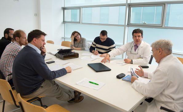 Reunión grupo de trabajo sobre esguince cervical