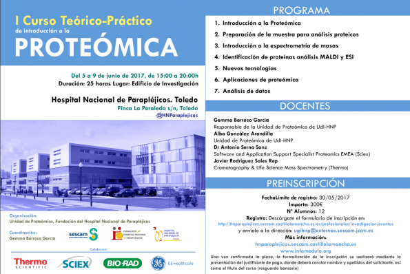 Programa curso proteómica