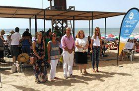 """Arranca la campaña """"La Playa más Accesible"""""""