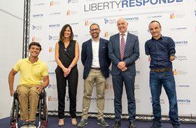 Liberty Seguros, Fundación Konecta y Parapléjicos renuevan su acuerdo de colaboración para 'Liberty Responde'