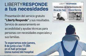Presentación de resultados del proyecto Liberty Responde y renovación del acuerdo de colaboración entre Fundación Konecta y Liberty Seguros con el Hospital