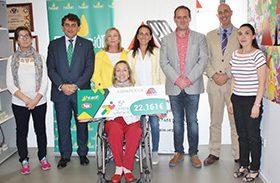 Ademto y Parapléjicos reciben 22.161 euros, recórd de recaudación de las carreras solidarias