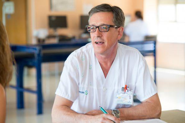Alberto Ubago. Jefe de Terápia Ocupacional del Hospital Nacional de Parapléjicos. (Foto:Carlos Monroy)