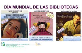 Del 23 al 27 de octubre celebramos el Día Mundial de las Bibliotecas