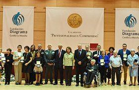El Hospital de Parapléjicos recibe el galardón de honor de la Fundación Diagrama