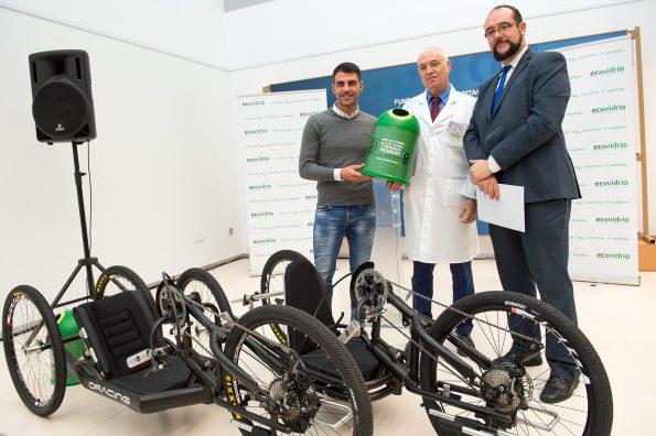 Donación bicis ecovidrio