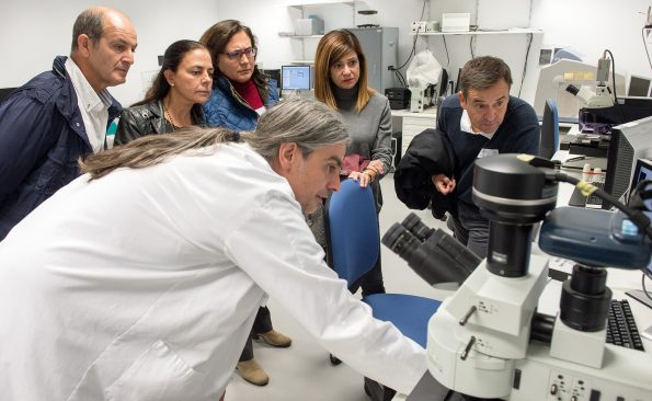 I Jornada Servicios de Apoyo a la Investigación en el Hospital Nacional de Parapléjicos. (Foto: Carlos Monroy//SESCAM)