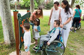 Aquí jugamos todos, parque inclusivo para niños ingresados en el Hospital de Parapléjicos