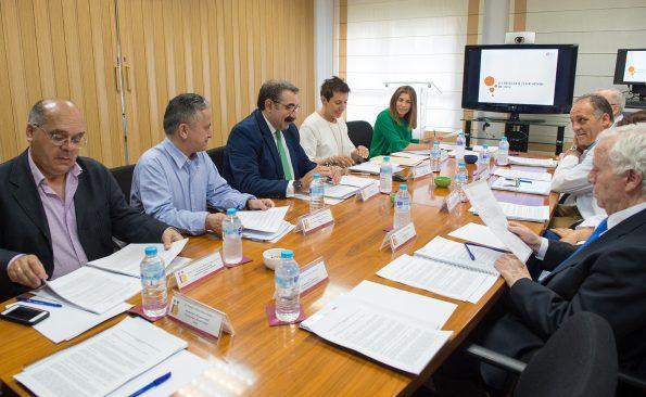 Reunión del Patronato de la Fundación del Hospital Nacional de Parapéjicos
