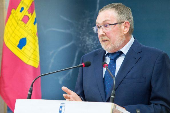 Presentación de José María Marín, nuevo gerente del Hospital Nacional de Parapléjicos