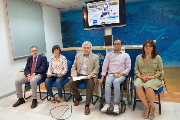 Presentación I Clinic Paracanoe Inclusivo de piragüismo en el río Tajo