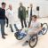 Parapléjicos cuenta con una nueva bicicleta de manos para los pacientes, donada por Ecovidrio