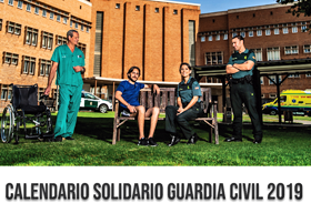Para adquirir el calendario solidario de la Guardia Civil