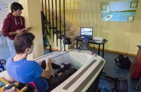 Integramos un simulador virtual de vela adaptada como terapia para pacientes con lesión medular