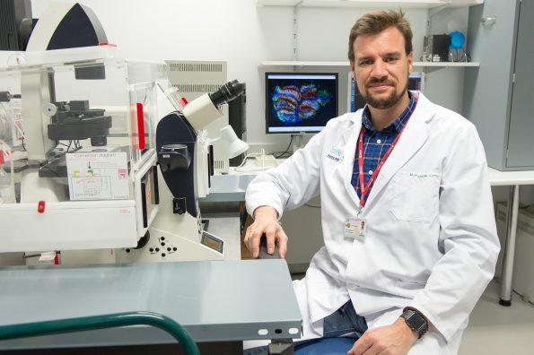 Rafael Moreno Luna. Investigador del Hospital Nacional de Parapléjicos
