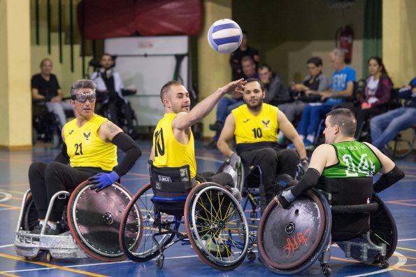 Rugby en silla de ruedas, en el Hospital Nacional de Parapléjicos