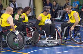 Rugby en silla de ruedas, nueva oferta deportiva para los pacientes