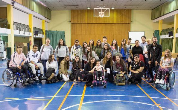 Grupo estudiantes IES Domingo Miral (Jaca)