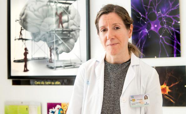 María Esther Gómez Rubio, Psicóloga Clínica del Hospital Nacional de Parapléjicos