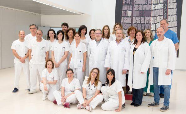 Divisió de  enfermería dell HNP