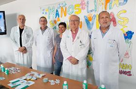 Parapléjicos se suma al Día Mundial de Higiene de Manos