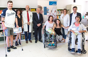 Ana Álvarez gana el concurso literario del Hospital Nacional de Parapléjicos patrocinado por Linde Healthcare