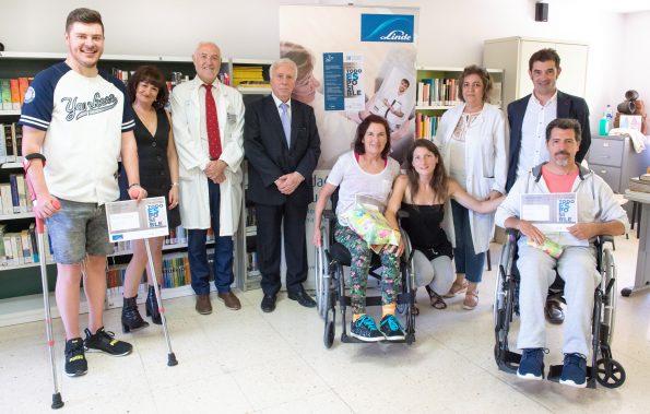 """Entrega de premios del concurso literario """"Todo es posible"""" en el Hospital Nacional de Parapléjicos"""
