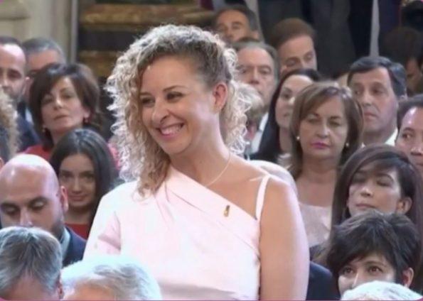 El rey condecora con la Orden del Mérito Civil a la investigadora de Parapléjicos María Eugenia González Barderas